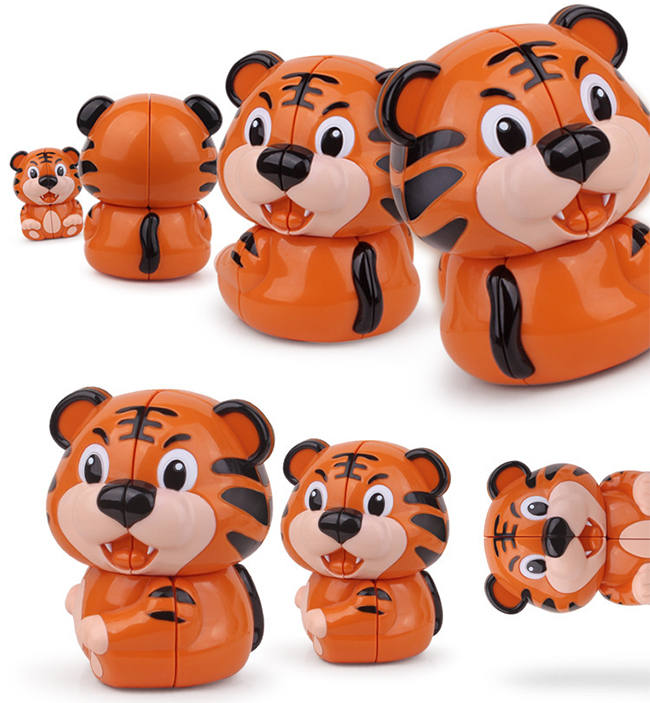 YuXin Tiger 2x2 Magic Cube Puzzle Toy