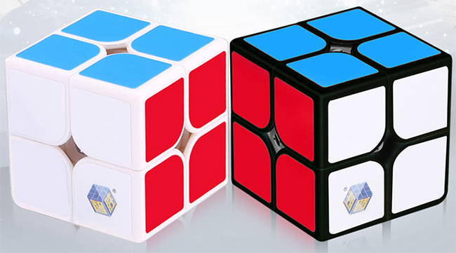YuXin White Kylin 2x2x2 Speed Cube