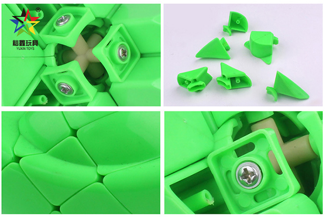 YuXin Chinese Sycee Ingot Cube Puzzle Green